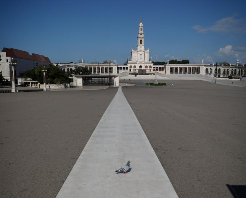 Santuário de Fátima vazio inicia hoje celebrações do 13 de maio ...